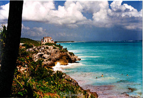 Tulum, the port city of the Maya world.