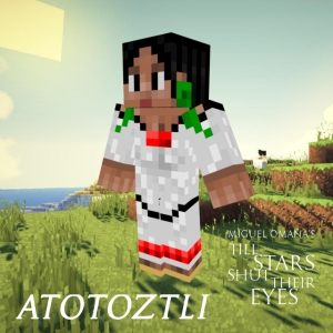 Atotoztli Minecraft skin. As she appears in Till Stars Shut Their Eyes.