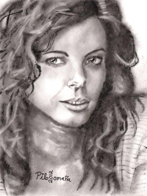 Spanish lady. Copyright 2012 Miguel Omaña.
