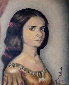 Sor Juana Ines. Copyright 2012 Miguel Omaña.