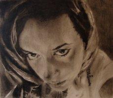 Portrait of girl. Copyright 2015 Miguel Omaña.