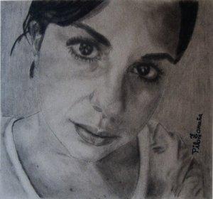 Portrait of Mexican girl. Copyright 2012 Miguel Omaña.