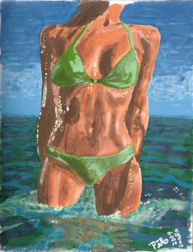 Argentinian in bikini