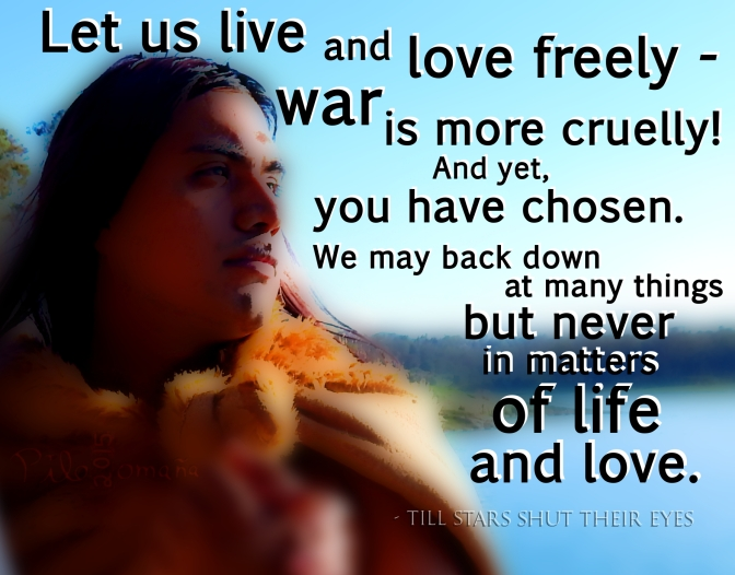 Let us live and love freely.