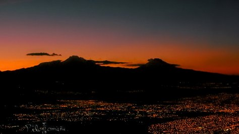 Mexican Volcanoes. Copyright 2014 Miguel Omaña.