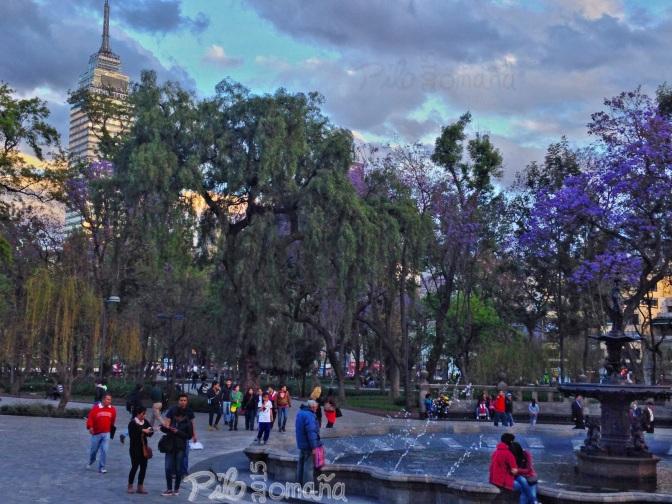 Mexico City's Alameda park.