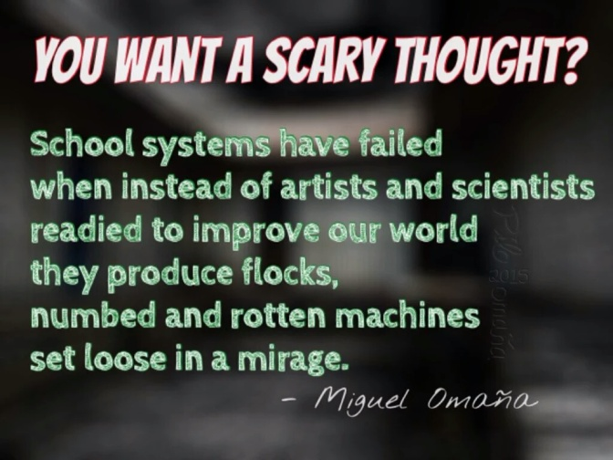 School systems have failed