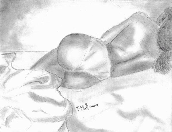 Ana resting lingerie